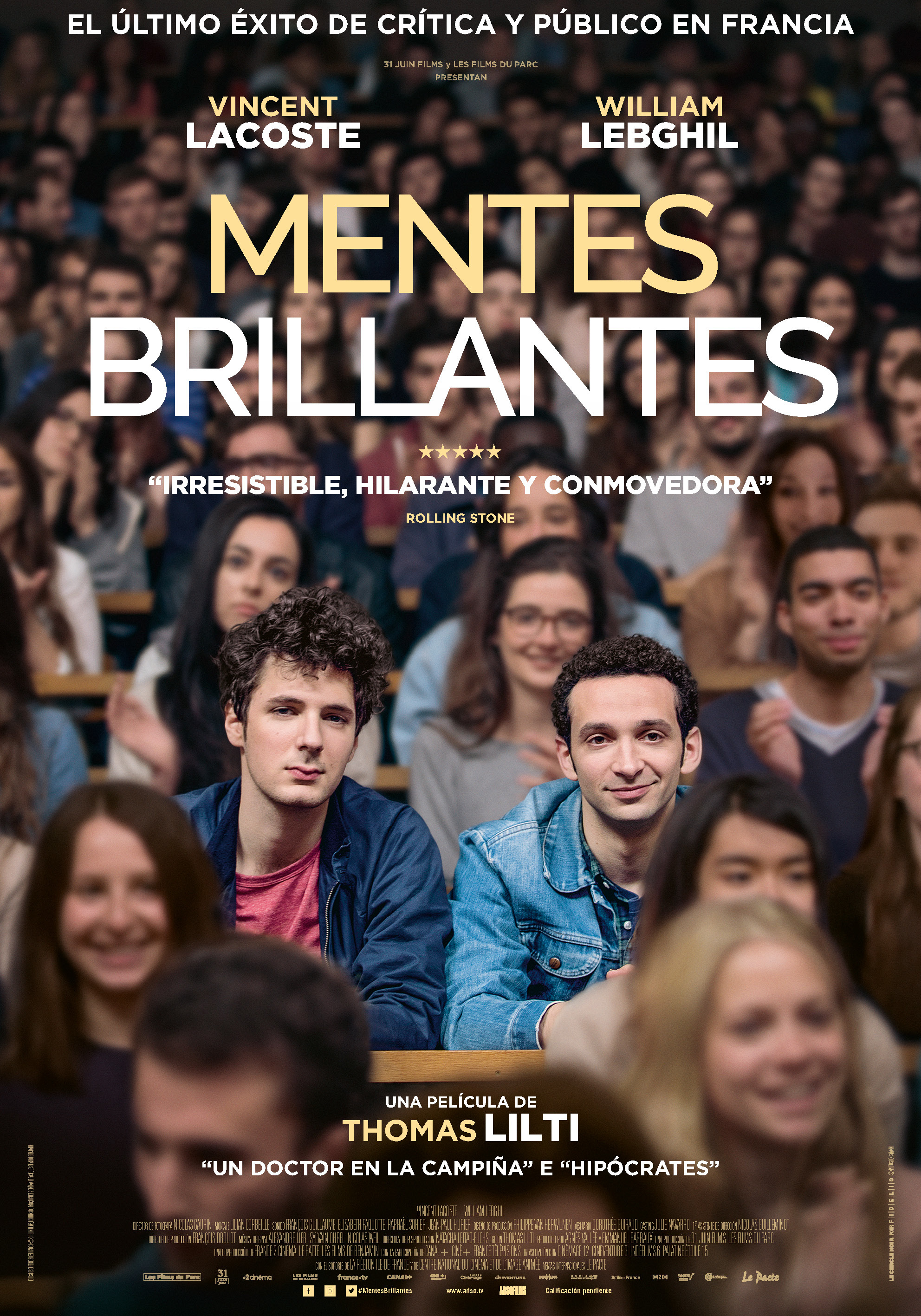 Cartel de Mentes brillantes