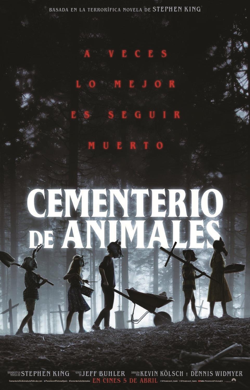 Cartel de Cementerio de animales