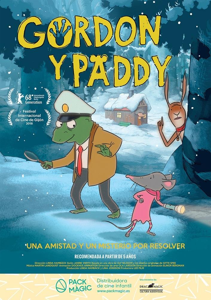 Cartel de Gordon y Paddy