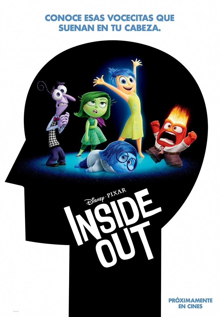 Cartel de Del revés (Inside out)