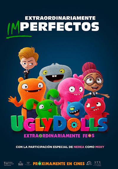Cartel de UglyDolls: Extraordinariamente feos