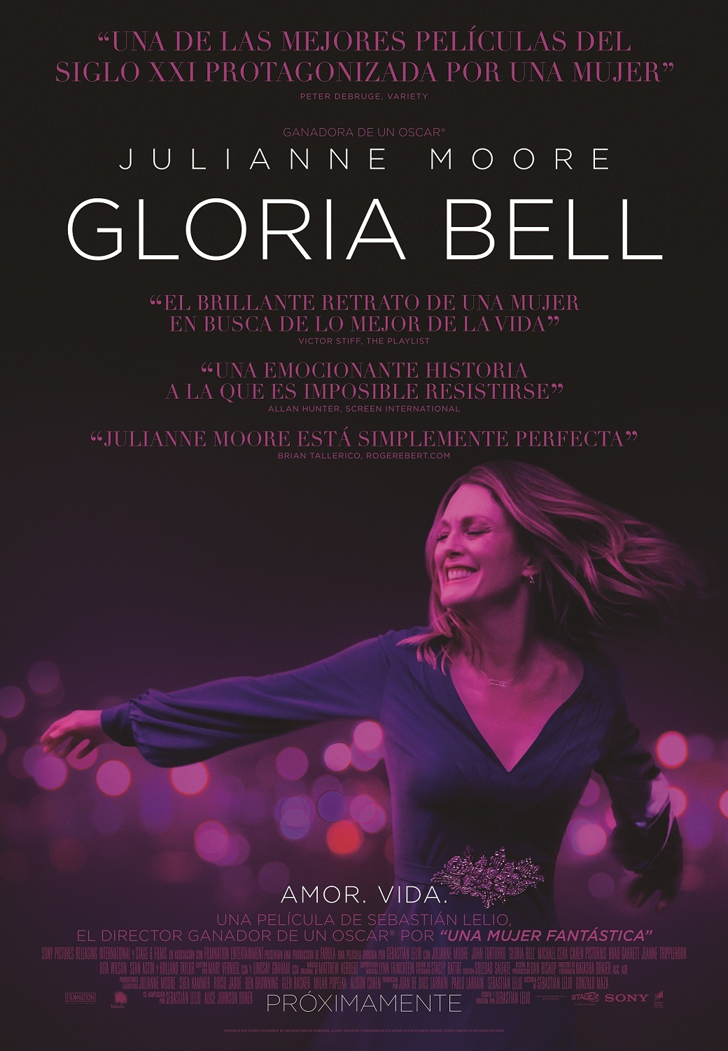Cartel de Gloria Bell