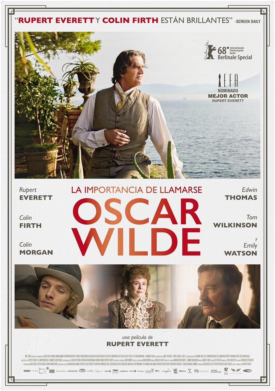 Cartel de La importancia de llamarse Oscar Wilde