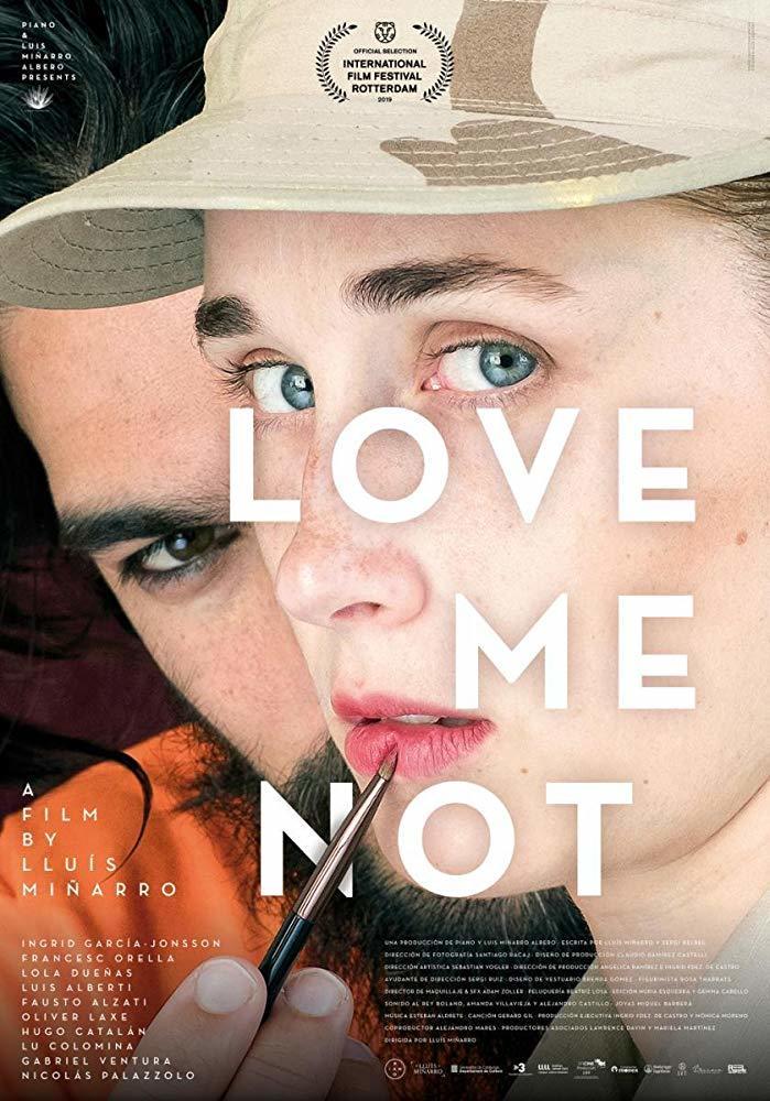Cartel de Love Me Not