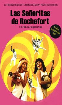 Cartel de Las señoritas de Rochefort