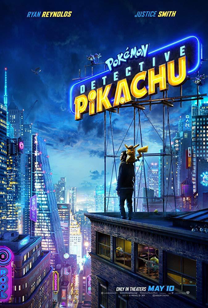 Cartel de Pokémon Detective Pikachu