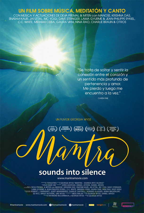 Cartel de Mantras. Sounds into Silence