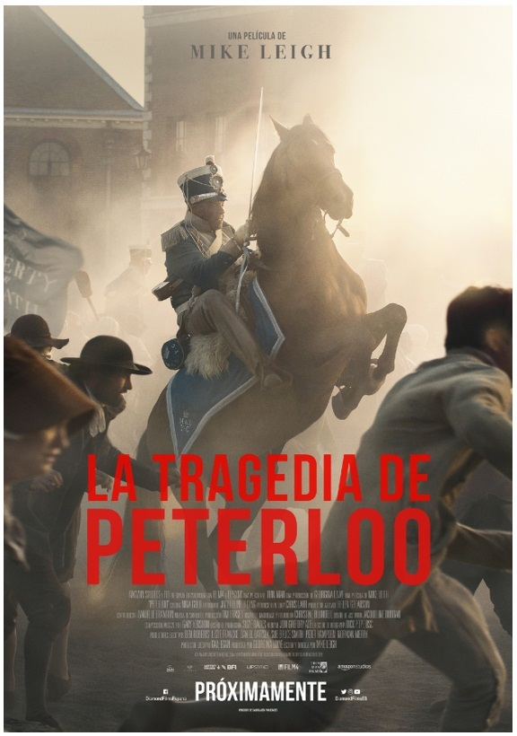 Cartel de La tragedia de Peterloo