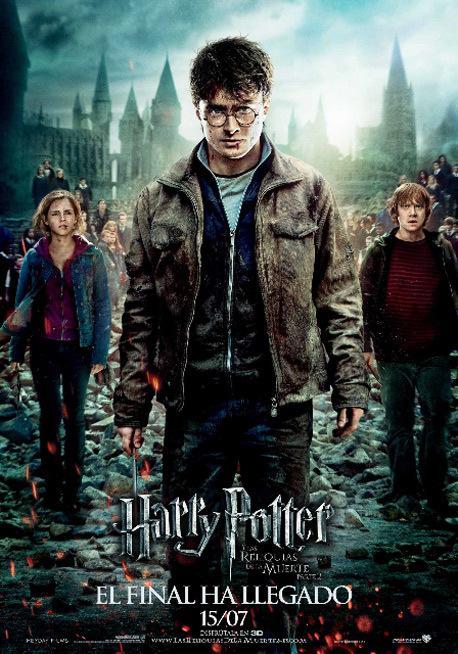 Cartel de Harry Potter y las reliquias de la muerte. Parte 2