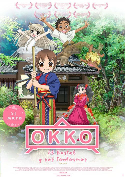 Cartel de Okko, el hostal y sus fantasmas