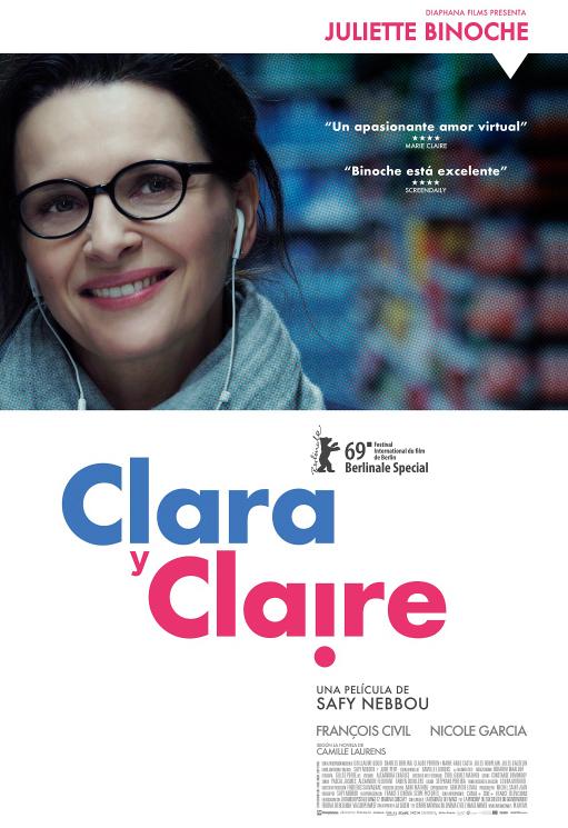 Cartel de Clara y Claire