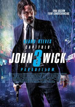 Cartel de John Wick: Capítulo3 – Parabellum