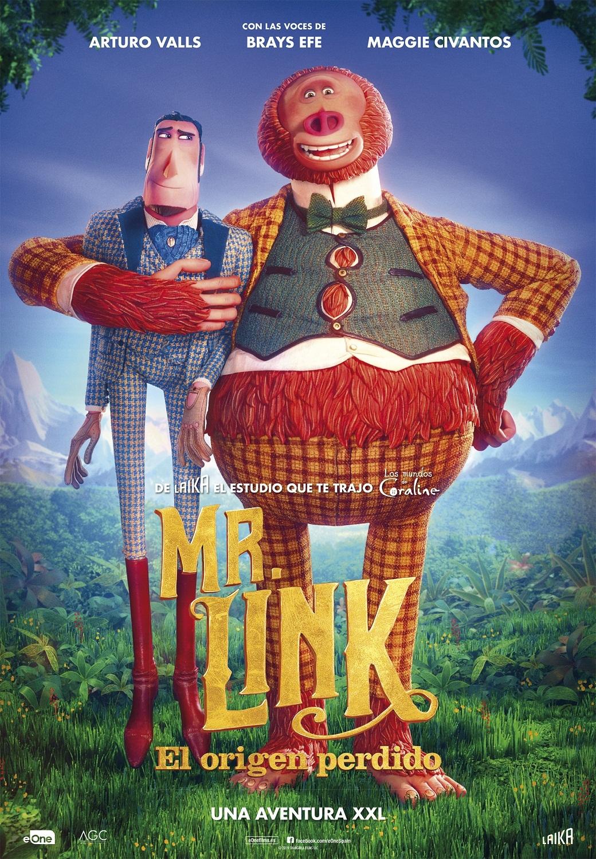 Cartel de Mr. Link: El origen perdido