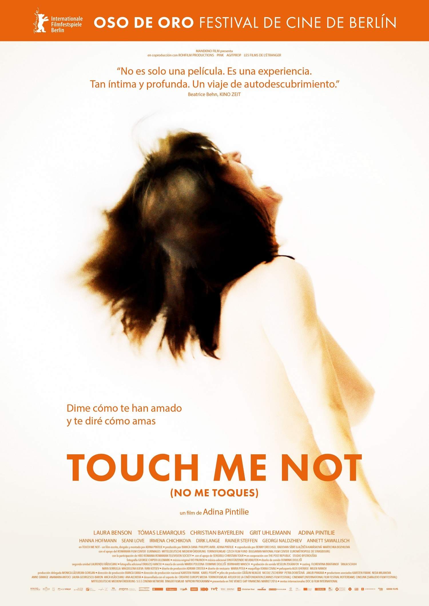 Cartel de Touch me not