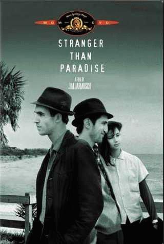Cartel de Extraños en el paraíso