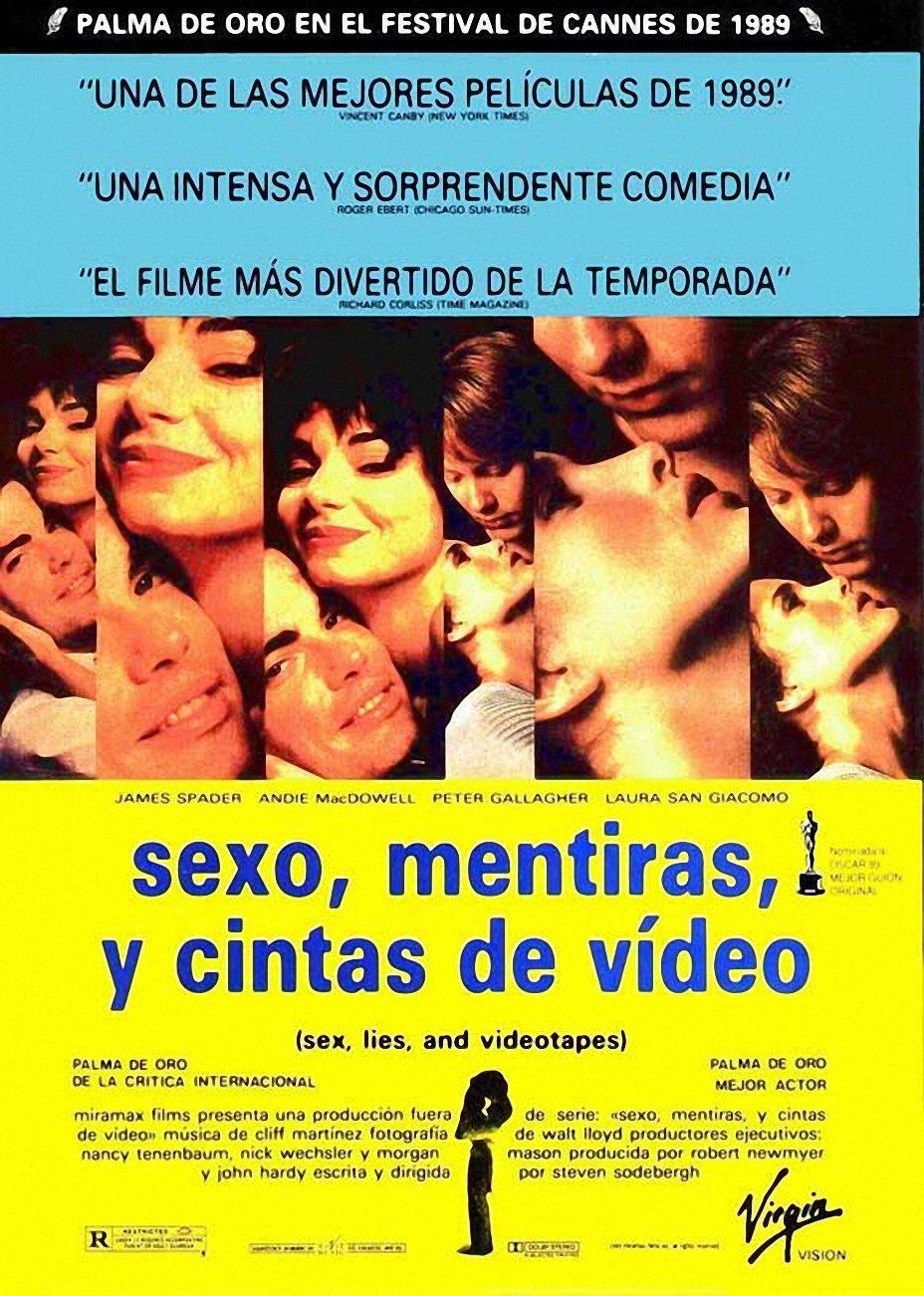 Cartel de Sexo, mentiras y cintas de vídeo