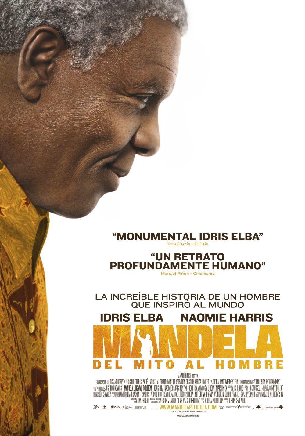 Cartel de Mandela: Del mito al hombre