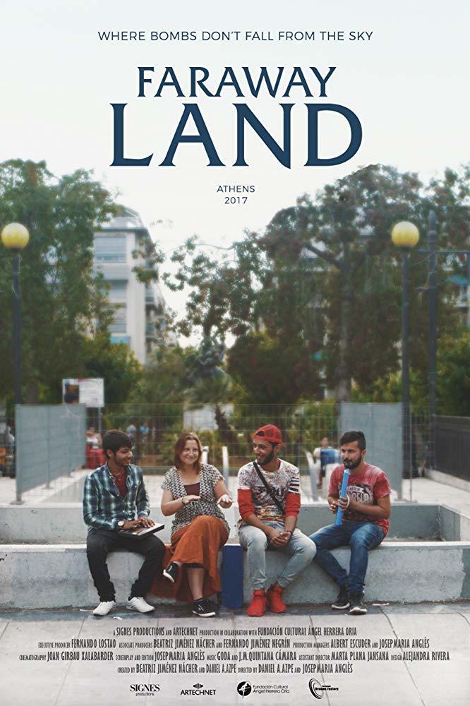 Cartel de Faraway Land