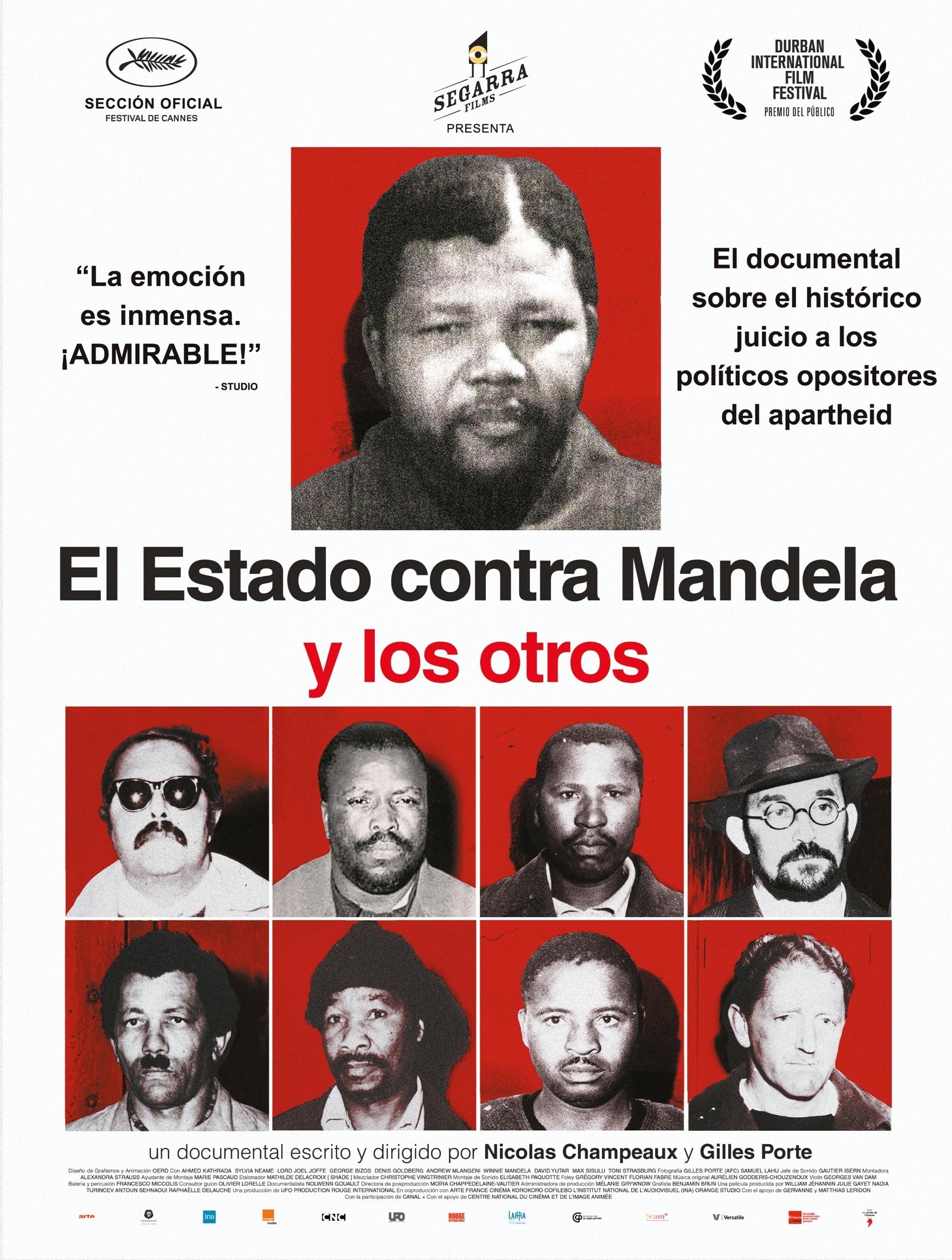 Cartel de El Estado contra Mandela y otros