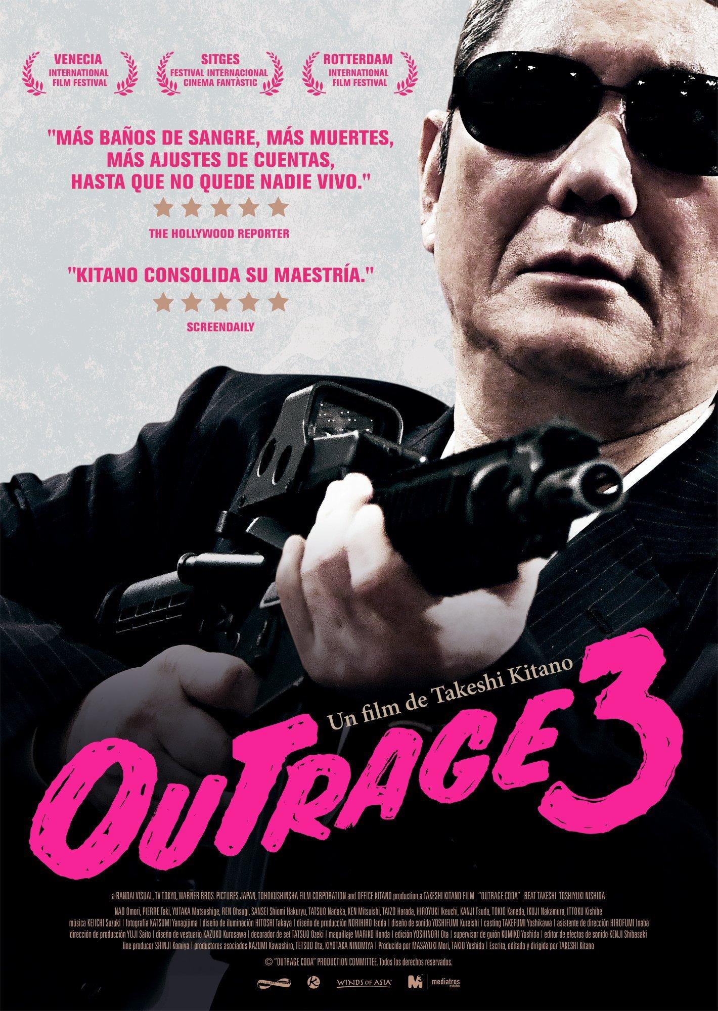 Cartel de Outrage 3