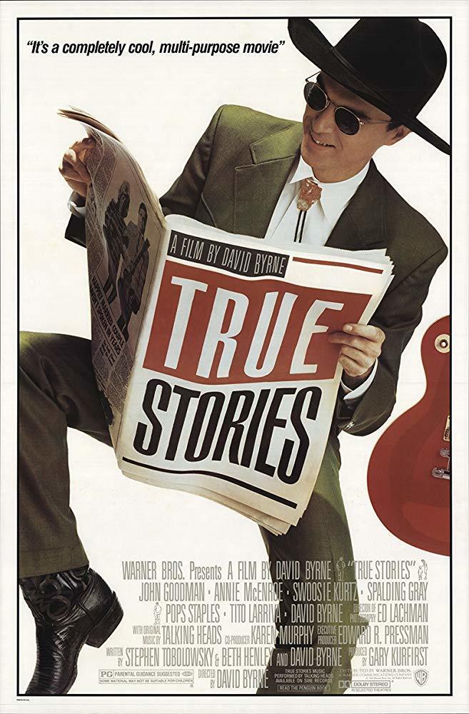 Cartel de True Stories