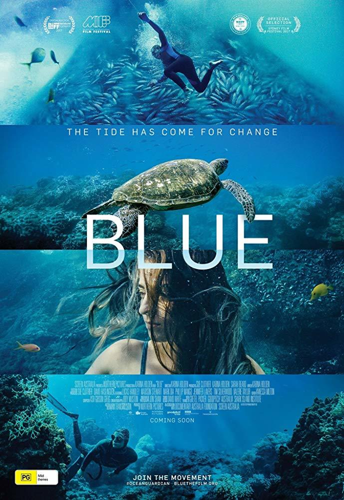 Cartel de Blue