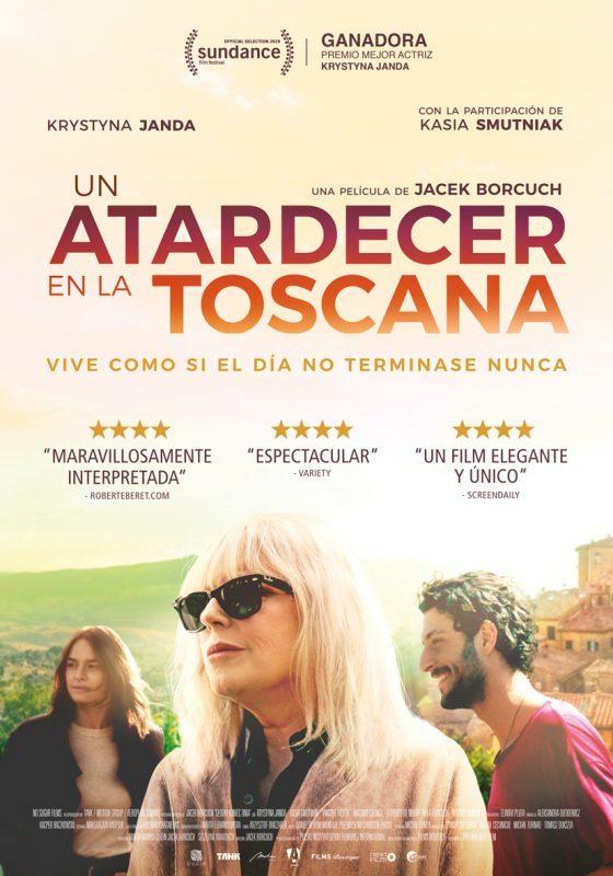 Cartel de Un atardecer en la Toscana