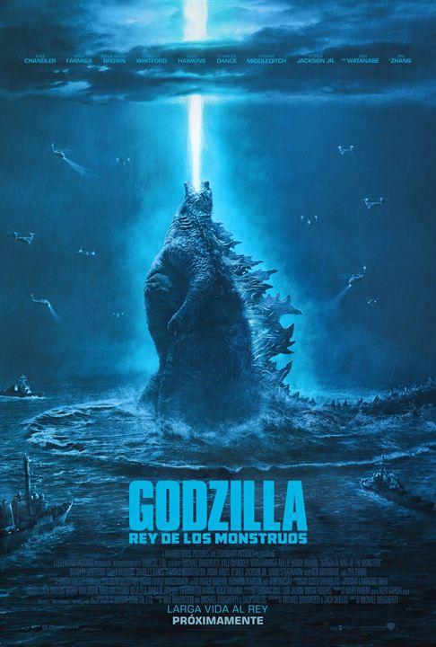 Cartel de Godzilla: Rey de los monstruos