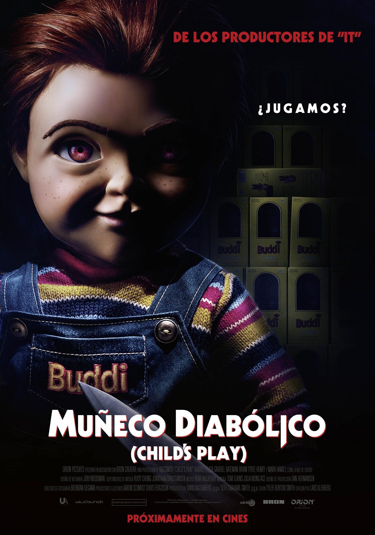 Cartel de Muñeco diabólico