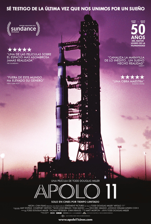 Cartel de Apolo 11