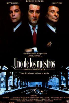 Cartel de Uno de los nuestros (1990)