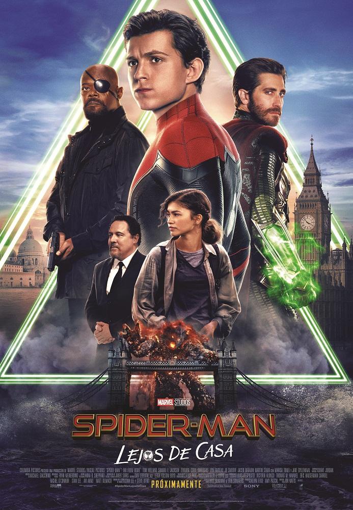 Cartel de Spider-Man: Lejos de casa