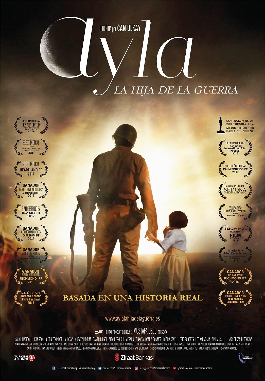 Cartel de Ayla, la hija de la guerra