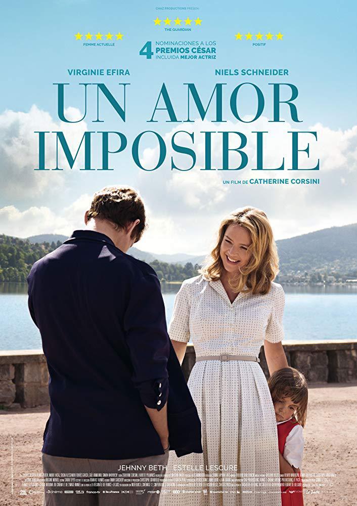 Cartel de Un amor imposible