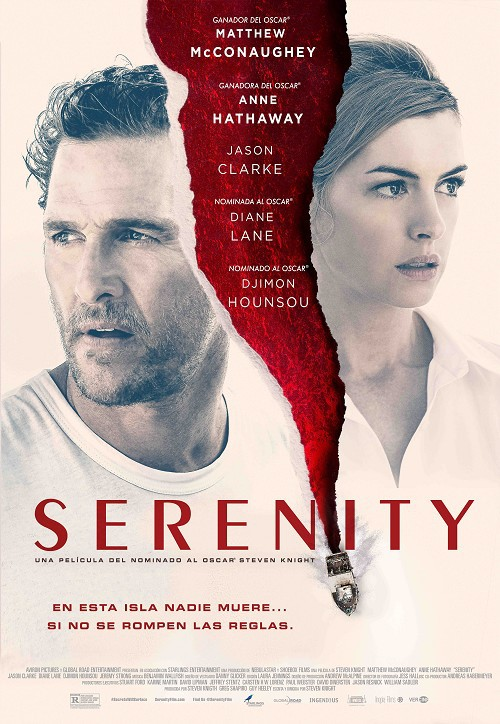 Cartel de Serenity