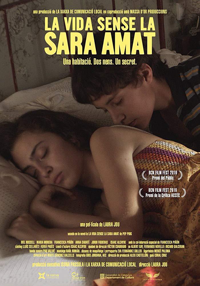 Cartel de La vida sin Sara Amat