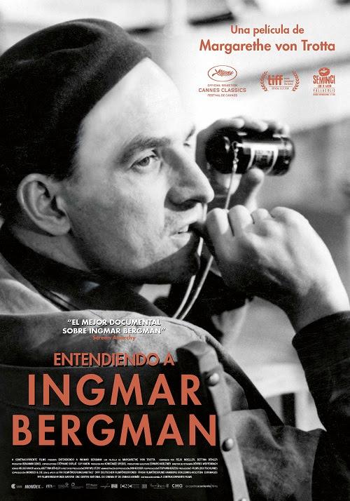 Cartel de Entendiendo a Ingmar Bergman