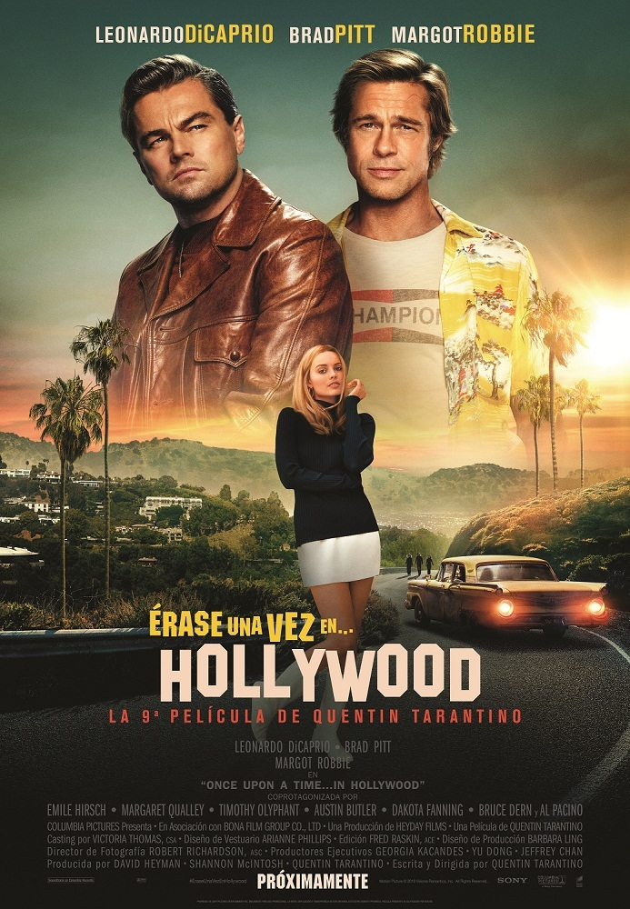 Cartel de Érase una vez en… Hollywood