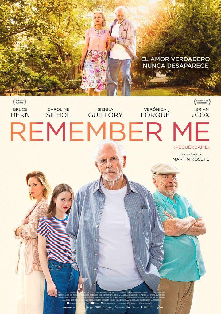 Cartel de Remember Me