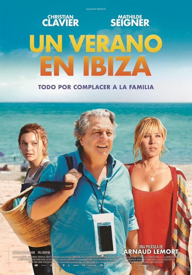 Cartel de Un verano en Ibiza