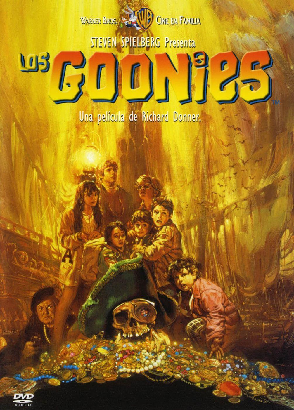 Cartel de Los Goonies