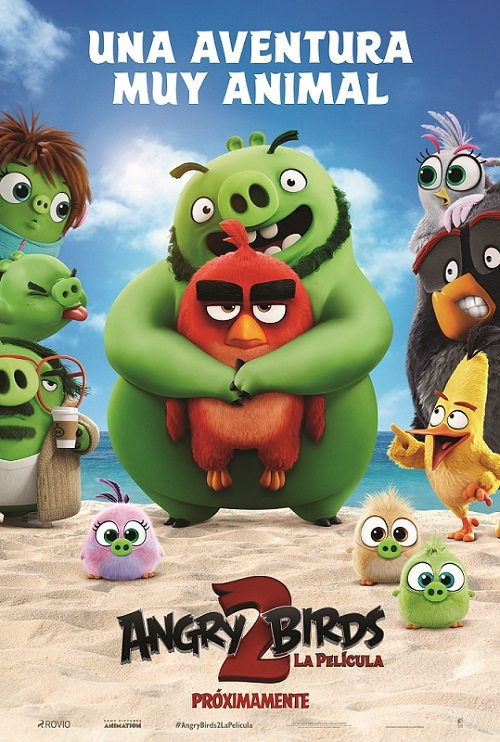 Cartel de Angry Birds 2: La película