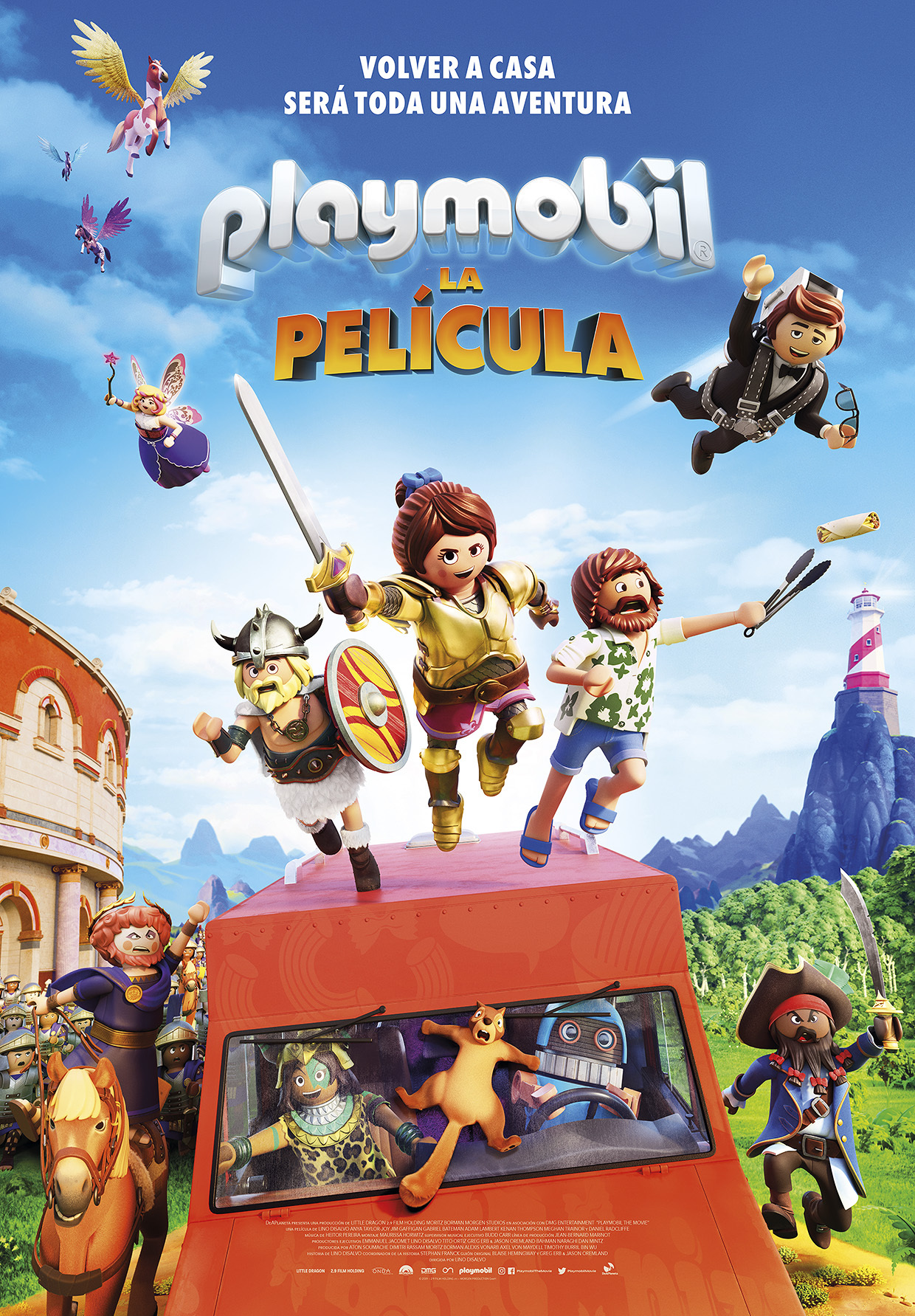 Cartel de Playmobil: La película