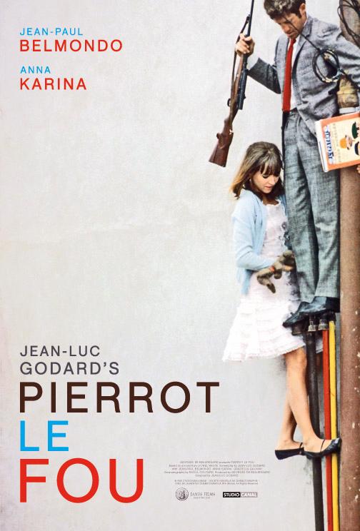 Cartel de Pierrot el loco