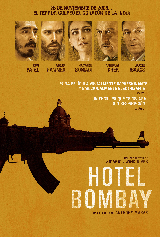 Cartel de Hotel Bombay