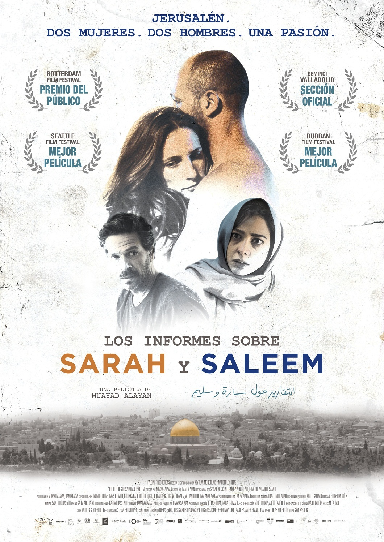Cartel de Los informes sobre Sarah y Saleem
