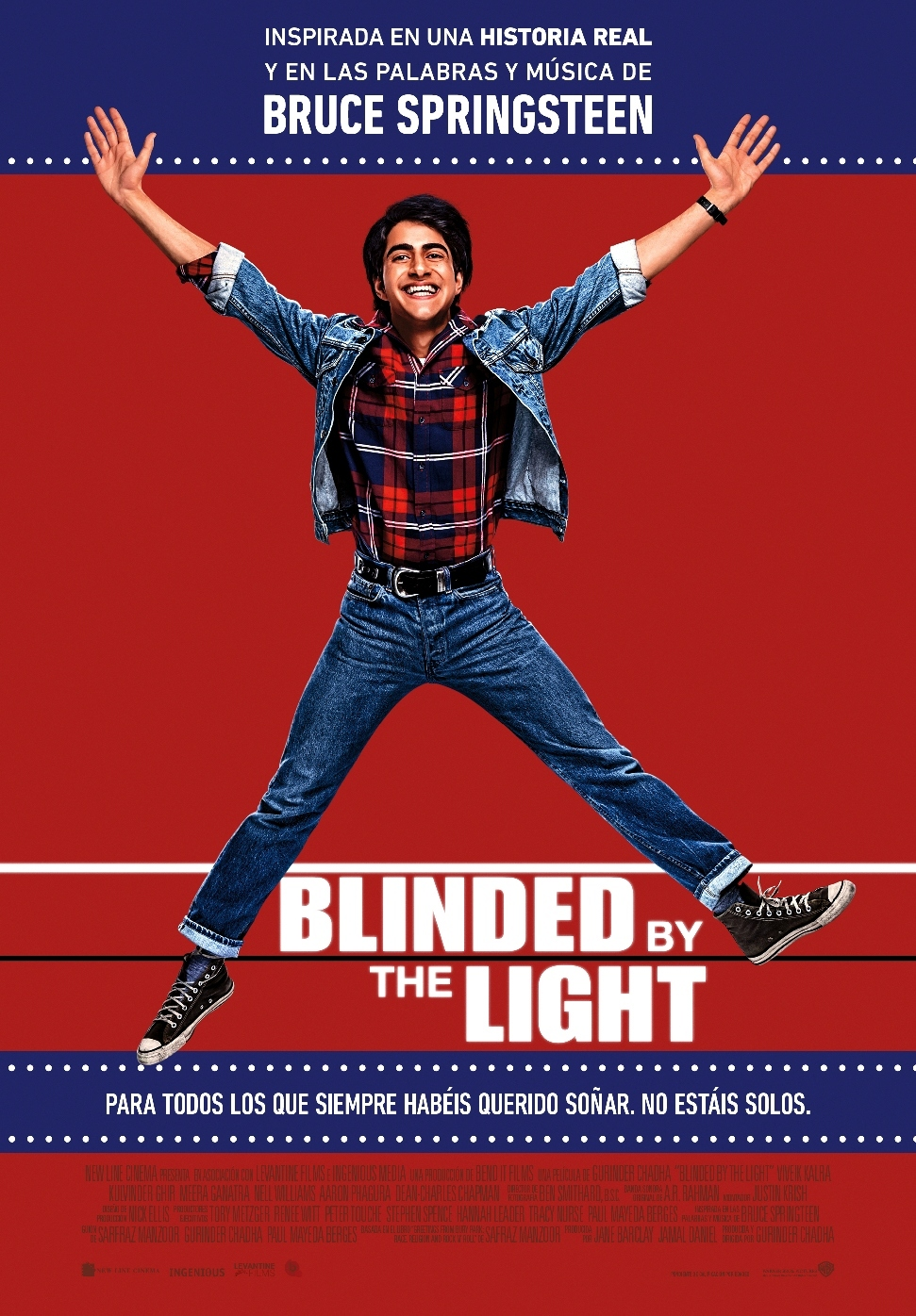 Cartel de Blinded by the Light