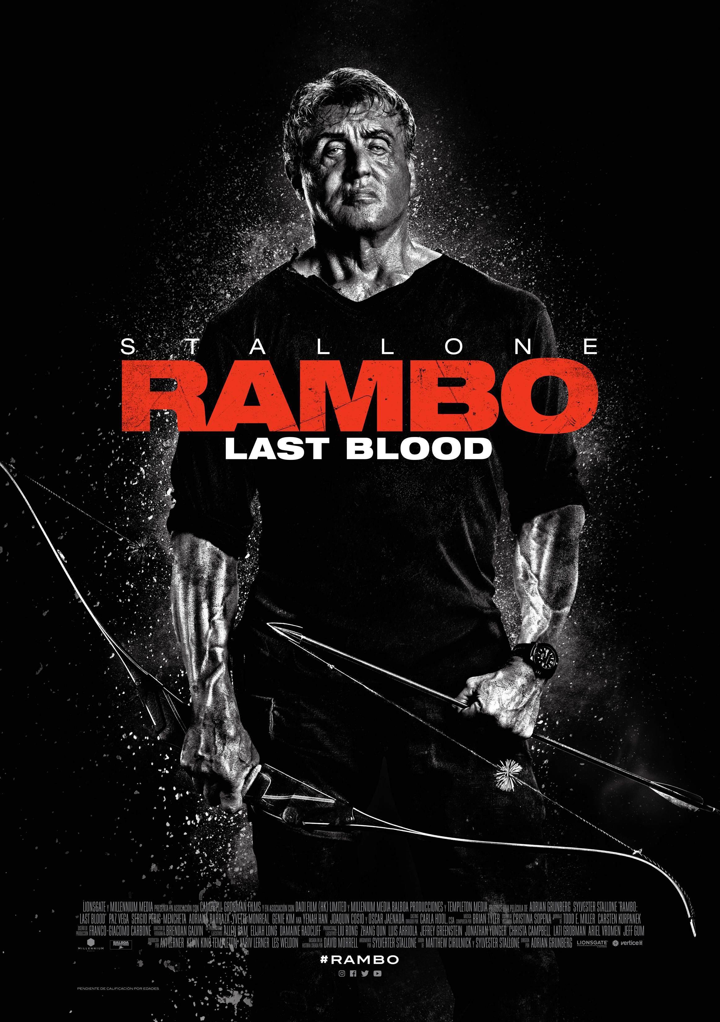 Cartel de Rambo: Last Blood