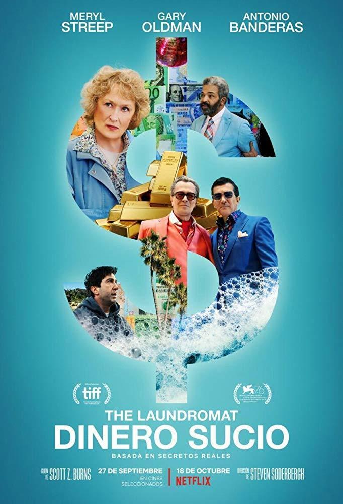Cartel de The Laundromat: Dinero sucio