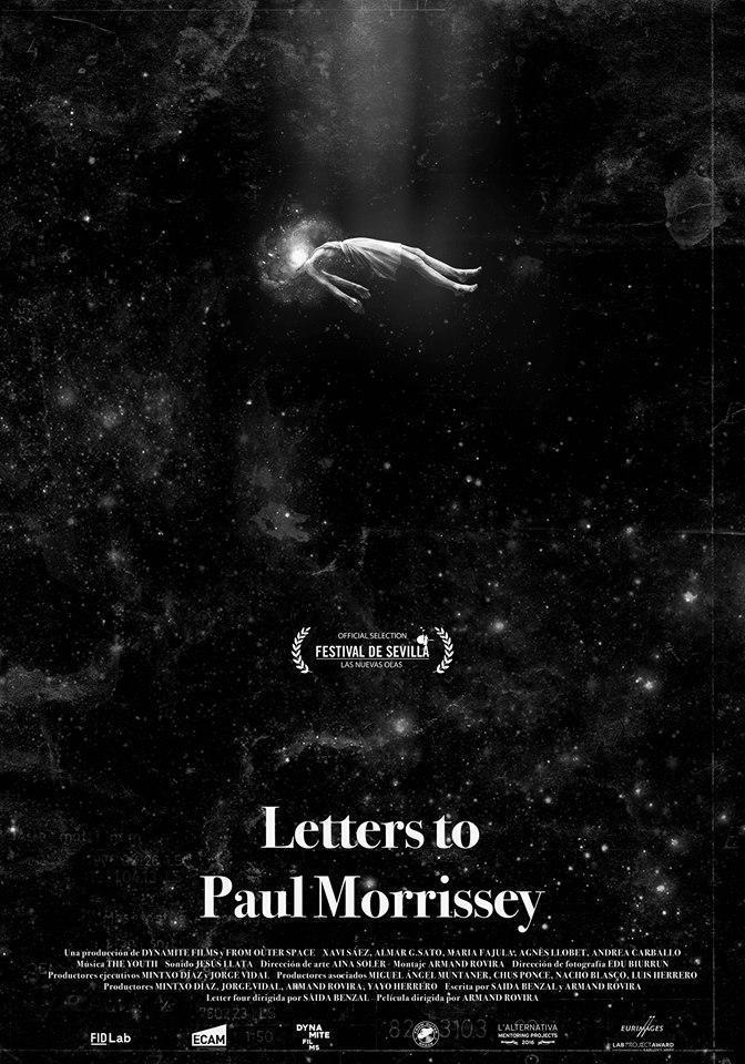 Cartel de Letters to Paul Morrissey